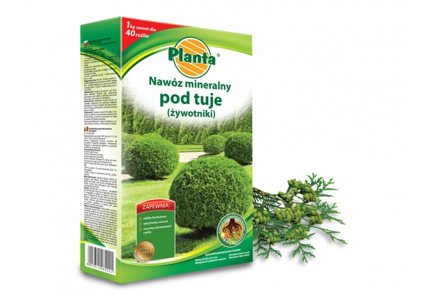 NAWÓZ MINERALNY PLANTA POD TUJE 1 kg