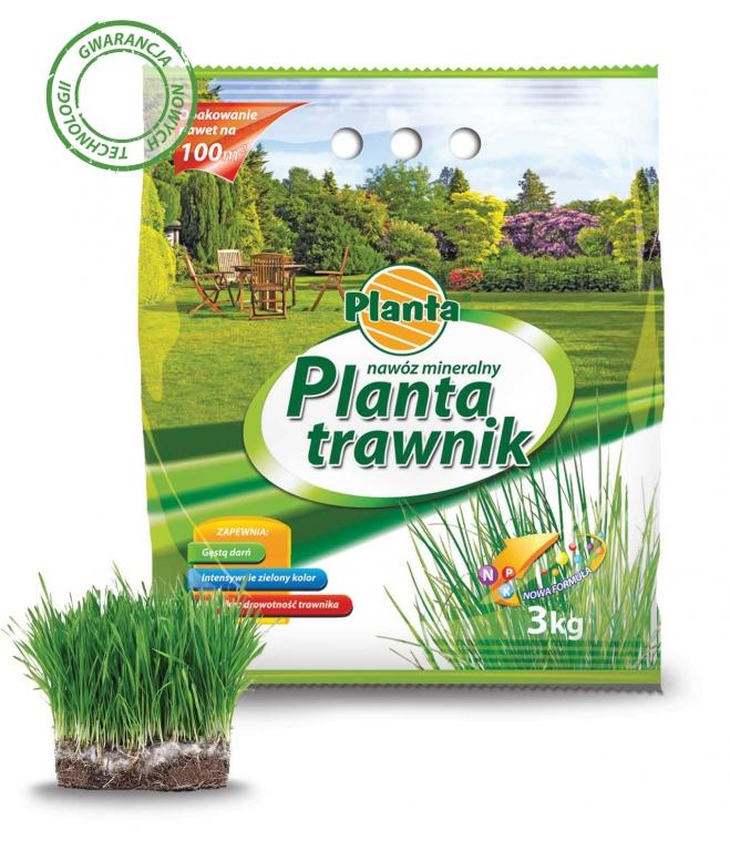 NAWÓZ MINERALNY PLANTA NA TRAWNIK - 3kg